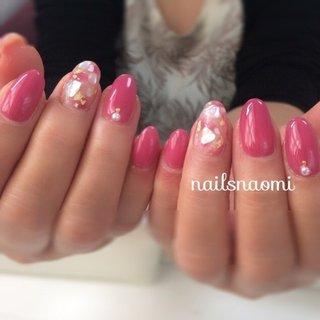 カラーはミキシングして作りました🎨✨ ・ いつもありがとうございます😊✨ ・  #nail #nails #nailsnaomi #gelnails #shellnail #ミキシングカラー #シェルネイル #福岡ネイル #城南区ネイル #マシンケア #マシンオフ #子連れネイル福岡 #nailsnaomi_ #ネイルブック