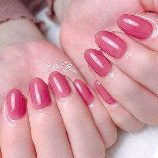 ℕ𝕖𝕨 𝕕𝕖𝕤𝕚𝕘𝕟 . . 新色の中で1番人気のカラー♡ パープルよりのピンク、 重ね塗りで雰囲気がガラッと変わります💅🏼 . . 〚maogel〛 #603ラズべニュー . . . ┈┈┈┈┈┈┈♥♥♥┈┈┈┈┈┈┈┈ 【10:00~23:30まで営業】 ・丁寧ケアで4週間以上の長持ちネイル ・爪が薄い ・溶剤を使用したくない ・爪のピンクの部分を伸ばしたい ・爪の形がコンプレックス ・美しいフォルム&ちゅるんネイルがしたい ・相談しながらデザインを決めたい ・人目を気にせずのんびり過ごしたい 当サロンへ、お任せください♡ ┈┈┈┈┈┈┈♥♥♥┈┈┈┈┈┈┈┈   #ジェルネイル #ジェルネイルデザイン#トレンドネイル #大人ネイル#ネイルデザイン#うる艶#大人可愛いネイル#上品ネイル#オフィスネイル#艶ネイル#ちゅるんネイル #フィルイン一層残し #フィルイン #深谷 #深谷ネイル #深谷ネイルグロウ #熊谷ネイル #籠原ネイル#maogel導入サロン埼玉 #maogel導入サロン深谷市 #ネイルブック掲載店#モテネイル#ナチュラルネイル#シンプルネイル#ネイルブック公式サロン#ルビケイト導入サロン埼玉県 #ピンクネイル #ワンカラー #ワンカラーネイル #オールシーズン #オフィス #ブライダル #デート #ハンド #シンプル #ワンカラー #ピンク #レッド #ジェル #NAIL GLOW #ネイルブック
