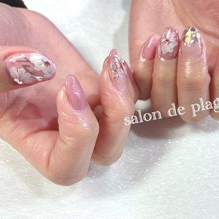 #Salon_de_plage #ネイルブック