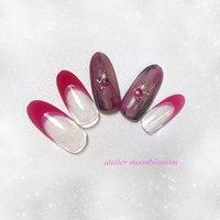 3月のキャンペーンネイル💅💎✨ フルーリアジェル @spacenail_fleurir 使っています  #nail #gelnail #fleurir #fleurirgel #nailcare #campaign #simple #ネイル #ジェルネイル #フルーリア #フルーリアジェル #ネイルケア #今月のキャンペーン #キャンペーンネイル #シンプル #シンプルネイル #ateliermoonblossom #atelier moonblossom #ネイルブック