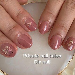 #春 #オフィス #ハンド #グラデーション #フラワー #Private nail salon Dia nail #ネイルブック