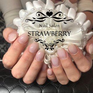 #シンプル #上品ネイル #Nailsalon strawberry (ネイルサロン ストロベリー) オートネイル導入店 オートネイルマスター講師 #ネイルブック