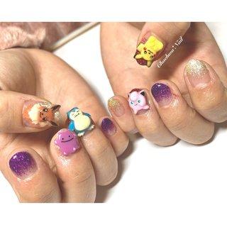 ラメグラ× ポケモンオーダー3D♡ . ミニミニSサイズ♡ . #nails #naildesign #nailart #monsterball #instagood #pocketmonsters #character #pikachu #art #handmade #chaehwanail #ネイル#ネイルデザイン #痛ネイル #ポケモン #ポケモンネイル #メタモン #カビゴン #ピカチュウ #3d #イーブイ #キャラクターネイル #神奈川 #川崎ネイルサロン #네일#네일아트#네일스타그램 #젤네일 #포켓몬 #피카츄 . ご予約は↓からお願いします! *ネイルブックネット予約(プロフィールのURLから予約可能!) . お問い合わせは↓からお願いします! *LINE@ : @chaehwa_nail(@から検索) *Instagram DM : @chaehwa_nail . ご連絡お待ちしております(*´꒳`*)♪ Chaehwa*Nail #オールシーズン #ライブ #ハンド #グラデーション #痛ネイル #キャラクター #3D #ショート #カラフル #ビビッド #ジェル #お客様 #chaehwa_8127 #ネイルブック
