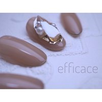 """***************** ***************** NAIL- efficace- ***************** New Collection ***************** """" Shell acce """" ********************** #efficace#efficacenail #Hitomi Aoki #ネイルブック"""