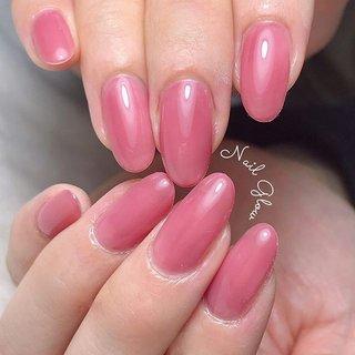 ℕ𝕖𝕨 𝕕𝕖𝕤𝕚𝕘𝕟 . . 人気のカラー♡ フリーエッジが透ける2度塗りが おすすめです⑅⃝ . . 〚maogel〛 #603ラズべニュー . . . ┈┈┈┈┈┈┈♥♥♥┈┈┈┈┈┈┈┈ 【10:00~23:30まで営業】 ・丁寧ケアで4週間以上の長持ちネイル ・爪が薄い ・溶剤を使用したくない ・爪のピンクの部分を伸ばしたい ・爪の形がコンプレックス ・美しいフォルム&ちゅるんネイルがしたい ・相談しながらデザインを決めたい ・人目を気にせずのんびり過ごしたい 当サロンへ、お任せください♡ ┈┈┈┈┈┈┈♥♥♥┈┈┈┈┈┈┈┈   #ジェルネイルデザイン#トレンドネイル #大人ネイル#ネイルデザイン#うる艶#大人可愛いネイル#上品ネイル#オフィスネイル##ちゅるんネイル #フィルイン一層残し #フィルイン #深谷 #深谷ネイル #深谷ネイルグロウ #熊谷ネイル #籠原ネイル#maogel導入サロン埼玉 #maogel導入サロン深谷市 #ネイルブック掲載店#モテネイル#ナチュラルネイル#シンプルネイル#ネイルブック公式サロン#ルビケイト導入サロン埼玉#美甲#ピンクネイル #春 #夏 #オールシーズン #オフィス #ハンド #シンプル #ワンカラー #ピンク #ジェル #NAIL GLOW #ネイルブック