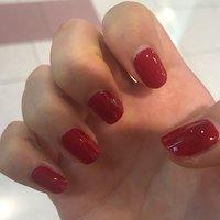 去年の9月にネイルサロンでやったマニキュア❤️ 色は真っ赤❤️ CHANELの赤リップを購入する前にやったよ! #マニキュア #真っ赤 #秋 #冬 #ハンド #ワンカラー #レッド #マニキュア #千幸❤️ #ネイルブック