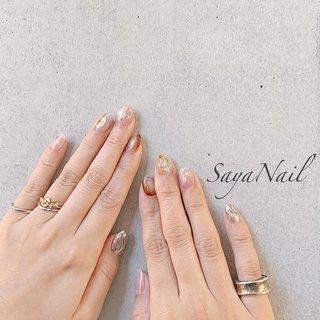 * bridal nails 👰💛 久しぶりにお会い出来て いろんなお話が出来て楽しかったです🏵 ご結婚おめでとうございます☺️💕 * 【120min art design】 ↓他の120分で出来るデザインはこちらから☺︎ #120minartsayanail  #ニュアンス #ブライダル #SayaNail【サヤネイル】恵比寿店〈パラジェル取扱店〉 #ネイルブック