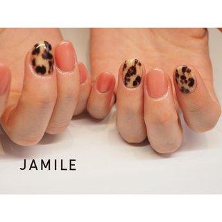 leopard. *    * #ネイル#ジェルネイル#フィルイン#一層残しフィルイン #nail#nails#footgel#fashion#ootd#gelnail#gelnail#nailart#like4like#followme#instanail#art#gel#instagood#nailjamlle#jamile#ジャミール#ネイルジャミール#followmefollowyou #vetro#富山ブライダル#富山市#ネイルサロン#富山市ネイルサロン#富山ネイル#富山市ネイル#富山市ジャミール #JAMILE #ネイルブック