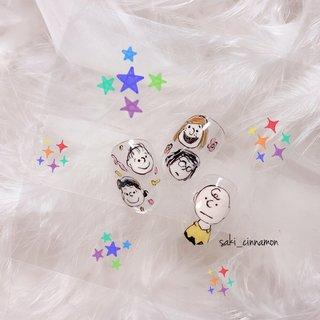 スヌーピー🐾   #ネイル #ジェルネイル #ネイルアート #nail #nails #nailart #gelnail #福岡ネイル #福岡ネイルサロン #大牟田ネイル #美甲 #スヌーピー #キャラクター #saki_cinnamon #ネイルブック