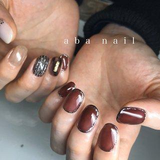 _  いつもありがとうございます!✨ #シンプルネイル#nail#nails#名古屋ネイルサロン#nailstagram#eye#美甲#個性派ネイル#ニュアンスネイル#名古屋サロン#blue#art#artwork#artist#artistry#artworks#ネイル#art#nailfashion#nailscompetition#competition#instagood#instafashion#instapic#個性的ネイル#ネイル サロン #春 #夏 #オールシーズン #ハンド #ニュアンス #ショート #ブラウン #グレー #ブラック #ジェル #tae_nail #ネイルブック