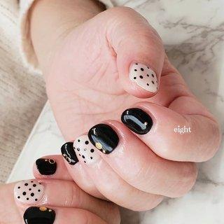 ドット・・・   #ドットネイル #Private nail salon eight #ネイルブック