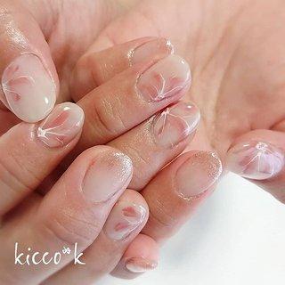 ふんわり(❁´ω`❁) #春ネイル #フラワーネイル #ピンクネイル  #nail #nails #nailsalon #instanails #nailswag #nailstagram #nailart #naildesign #gelnails #manicurist #ネイル #ネイルデザイン #大人ネイル #ジェルネイル #ネイルサロン #八潮市 #八潮ネイル #八潮ネイルサロン #足立区ネイルサロン #北千住ネイルサロン #三郷ネイル #草加ネイル #自宅サロン #kicco_k #春 #オールシーズン #入学式 #デート #ハンド #フラワー #ショート #ホワイト #ピンク #ジェル #お客様 #kicco_k.nail #ネイルブック