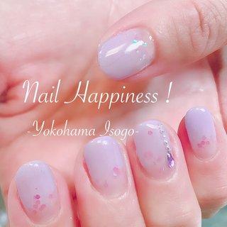#ラベンダーカラー #パステルグラデーションネイル #春ネイル2020 #磯子区ネイルサロン #オールシーズン #グラデーション #パープル #ジェル #お客様 #Nail Happiness!(ネイルハピネス)*ささきまき #ネイルブック