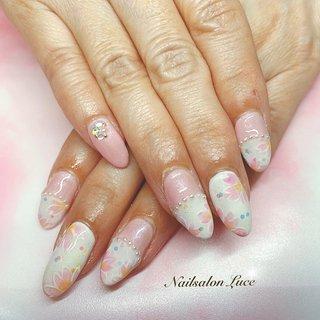 #春#桜 #Luce 〜ルーチェ〜 #ネイルブック
