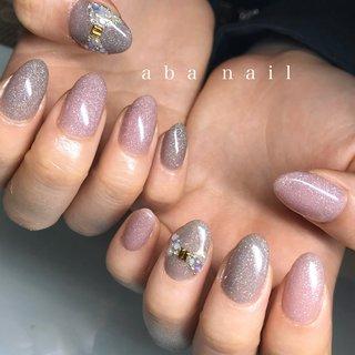 _  いつもありがとうございます!✨ #シンプルネイル#nail#nails#名古屋ネイルサロン#nailstagram#eye#美甲#個性派ネイル#ニュアンスネイル#名古屋サロン#blue#art#artwork#artist#artistry#artworks#ネイル#art#nailfashion#nailscompetition#competition#instagood#instafashion#instapic#個性的ネイル#ネイル サロン #春 #夏 #オールシーズン #ハンド #シンプル #ラメ #ビジュー #ショート #ベージュ #ピンク #グレージュ #tae_nail #ネイルブック