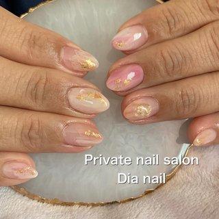 #春 #卒業式 #入学式 #グラデーション #ニュアンス #Private nail salon Dia nail #ネイルブック