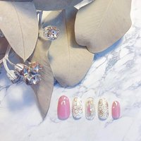 #blossomnail #blossom #桜ネイル #桜 #オフィスネイル #ピンクネイル #春ネイル #ニュアンスネイル #シェルネイル #春 #成人式 #卒業式 #入学式 #ハンド #フラワー #シェル #ニュアンス #ミディアム #ホワイト #ピンク #ゴールド #ジェル #ネイルチップ #Nanako Matsuura #ネイルブック
