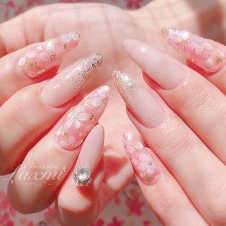 2020年 春の新作です🥰🌸✨🌈  #ネイル #ジェルネイル #ネイルデザイン #nail #gelnails #selfnail #セルフネイル #privatesalon #Laxmi #ラクシュミー #パラジェル #2020 #long #💎 #beauty #💅 #mynails #春 #springnails #桜 #さくら #サクラ #ピンク #pink #花 #flower #🌸 #春 #卒業式 #入学式 #女子会 #シンプル #グラデーション #フラワー #オーロラ #PrivateSalon Laxmi(ラクシュミー) #ネイルブック