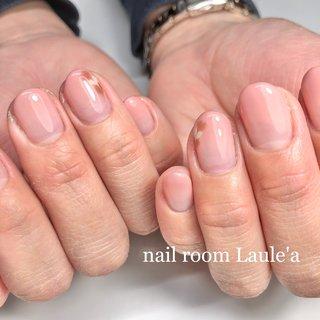 #グラデ#カラーグラデ#グラデーション#ピーコック#ハートピーコック#ピンク#シンプル#オフィス#バレンタイン #グラデーション #ピーコック #ピンク #nail room Laule'a_eri #ネイルブック