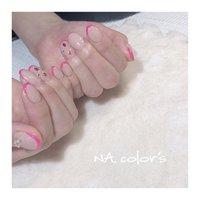 pink×beige ・ ・ ご来店ありがとうございました😆💐 ・ ・  ・ ・ NA.color 's ・ ・ ・  ------------------------------------------ 爪を大切に安心して付け替えが出来るフィルイン導入サロン・ ・ ♣︎ご予約はプロフィール画面よりお願いします @nailsalon_na.colors ・ ♣︎お問い合わせはこちらよりお願いします LINE ID→@jsw8391c(@を付けて検索) TEL→050-3627-5620 ・ ・ #フィルイン #精華町ネイルサロン #プライベートサロン  #癒しの空間 #ジェルネイル #パーソナルカラー診断 #ショートネイル #シンプルネイル #パラジェル #ココイスト #精華町 #新祝園駅 #祝園 #奈良市 #木津川市 #高の原 #NAcolors  #ナカラーズ #バーチャルフレンチネイル #スキニーフレンチネイル ----------------------------------------- #オールシーズン #ハンド #変形フレンチ #ビジュー #ミディアム #ベージュ #ピンク #ジェル #お客様 #NA.colo's ナカラーズ #ネイルブック