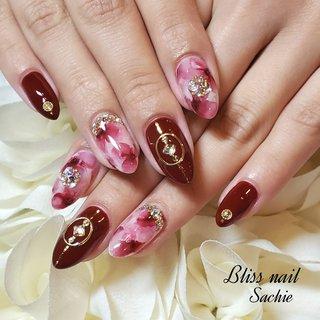 #お客様ネイル #ジェル #Bliss☆Sachi #ネイルブック