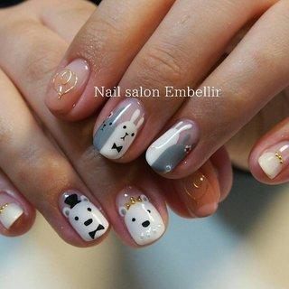 #高松ネイルサロン #ブライダルネイル #春ネイル #nailsalonembellir #個性派ネイル #Nail salon Embellir #ネイルブック