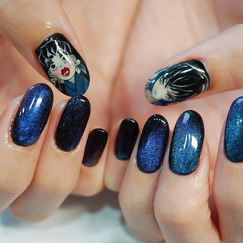 #鬼滅の刃#かわいいネイル#キャラクター #ange nail salon #ネイルブック