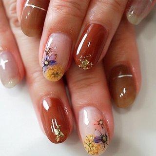 #フラワーネイル#かわいい #ange nail salon #ネイルブック