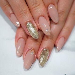 #ピンク#シンプル #成人式ネイル#ロングネイル #ange nail salon #ネイルブック
