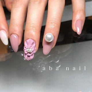 _  いつもありがとうございます!✨ #シンプルネイル#nail#nails#名古屋ネイルサロン#nailstagram#eye#美甲#個性派ネイル#ニュアンスネイル#フラワーネイル#blue#art#artwork#artist#artistry#artworks#グラデーションネイル#art#nailfashion#nailscompetition#competition#instagood#instafashion#instapic#大人上品ネイル#春ネイル2020 #春 #夏 #オールシーズン #ハンド #シンプル #フレンチ #ワンカラー #フラワー #3D #ミディアム #ホワイト #ベージュ #ピンク #ジェル #tae_nail #ネイルブック
