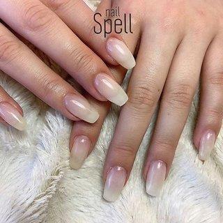 sheer white💅 ︙ #gelnail#gel#nailspell#nailstagrame #nailsalonspell #nails #春ネイル#ネイル#手描きアート#ホワイトネイル#ネイルデザイン#シアーネイル#ネイルブック #kokoist#上田市ネイルサロン#Whitenails #nailSpell_azusa #ネイルブック