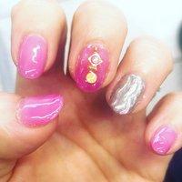 #ハンド #ワンカラー #ピンク #セルフネイル #selfnail #pink #ニュアンス #うねうねネイル #ミラーネイル #ハンド #ニュアンス #ピンク #のすけ #ネイルブック