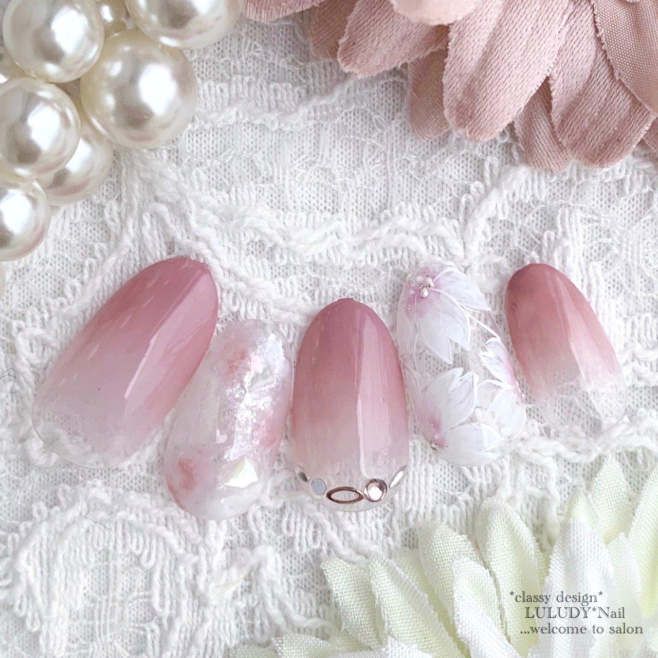 #桜ネイル #luludynail #ネイルブック