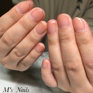 はじめてのお客様♡ バイトがあると言うことなので、シンプルに✨ とても素敵です◡̈♥︎   ご来店ありがとうございます( ¨̮ )︎❤︎ ・ ・ ・ ・ +……………………………………………………………......+ 〜M's Nails〜 プライベートサロン💅 @msnails1016  ご予約・お問い合わせ♡ 🎀LINE ID・・@fbj1732b 📩メール・・msnails1016@gmail.com  皆様のご来店、お待ちしております(*´∀`)✨ +………………………………………………………………....+ #m'snails#エムズネイルズ#熊谷市#熊谷#熊谷ネイルサロン#熊谷市ネイルサロン#自宅サロン#完全個室#お子様連れ大歓迎#ネイルケア#ケア重視#爪に優しいジェル#オフ無料#ご新規様大歓迎#定額制ネイル#フリーオーダー#お持ち込みデザインok#低価格#nail#ジェルネイル#2019#リーフジェル#agehagel#リッカジェル#冬ネイル#秋冬ネイル#春ネイル2020#ネイルデザイン2020#最新デザイン#カラーグラデーション #シンプル#ラメライン #オールシーズン #ハンド #シンプル #グラデーション #ショート #ピンク #ジェル #お客様 #M's Nails〜private nail salon〜 #ネイルブック