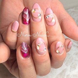 ▶︎ #ピンクネイル#ワイヤーネイル#ヒップインク#春 #春 #バレンタイン #旅行 #女子会 #ハンド #シンプル #ワンカラー #大理石 #ワイヤー #ロング #ホワイト #ピンク #ジェル #お客様 #aaayaaa16 #ネイルブック