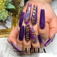 ミラーネイルと有料パーツは別途料金となります。 #nail #nailart #nailsalon #nails #art #gelart #nailstagram #shibuya #ULULA #nailsalonulula#followme#style#ジェル #ジェルネイル #ネイルアート #スカルプ #ロングスカルプ #ロングネイル #ギャル#キャバ嬢#ダンサー#ネイル #ネイルサロン #渋谷 #渋谷ネイルサロン #ネイルデザイン#パープルネイル #春 #夏 #秋 #冬 #ハンド #ラメ #ミラー #ロング #パープル #スカルプチュア #Nailsalon ULULA #ネイルブック