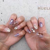 Tomomi.y . . . Nuance . . . RUELLE高知オフィシャル @ruelle_nail.eyelashsalon_ . . RUELLE高知 2F(total Beauty) TEL(088-881-6273) 6F(指名VIP ROOM) TEL(088-885-5060)  #リュエル#RUELLE#リュエル高知#RUELLE高知#高知ネイル#高知サロン#高知まつげ#高知まつげパーマ#高知ニュアンス#ニュアンスネイル #春 #オールシーズン #ハンド #シンプル #シースルー #ニュアンス #ミディアム #ホワイト #クリア #パープル #ジェル #お客様 #RUELLE #ネイルブック