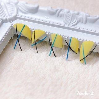 サンプル✨ #naildesign #nailstagram #nailart #nails#ネイルアート#変形フレンチ#斜めフレンチ#大人ネイル#仙台ネイルサロン #高橋 #ネイルブック