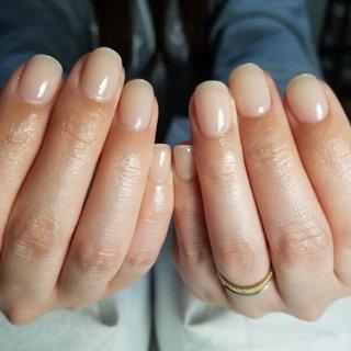#自爪育成 #ワンカラーネイル  こんなに爪が綺麗だったなんて❤️ ワンカラーが似合うお爪に 大変身しましたね💓 #Nailsalon_renatus #ネイルブック