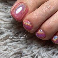 ・ ご新規のお客様❤ ご来店ありがとうございます✨ ・ ︎︎︎︎☑︎Color #rainbow#pink#unicorn ・ ピンクのちゅるんちゅるんキラキラユニコーンを🦄 ・ 初めてのユニコーンにとても喜ばれてました😉 またお待ちしております💓 - #うる艶ネイル#フットネイル#nails#nailstagram#nail#instalike#instanails#gelnails#ネイルサロン福岡#田川市#美指#美甲#美#ジェルネイル#ネイル#ユニコーンネイル#デザインネイル#ピンクネイル#艶々ネイル#パウダーネイル#オーロラネイル#ちゅるんネイル #ネイルブック#nailbook#ニュアンスネイル - chouchou nail :) シュシュネイル ・ 完全予約制でネット予約か電話受付で承っております( ¨̮ ) - ▼ネット予約▼  https://nailbook.jp/salon/20546 - - 詳しくはネイルブックをご覧ください💅💞↓↓↓ https://nailbook.jp/salon/20546 #春 #夏 #オールシーズン #海 #フット #ラメ #ワンカラー #ニュアンス #ミラー #ユニコーン #ミディアム #ピンク #カラフル #ビビッド #ジェル #お客様 #sayaka☪︎⋆。˚ #ネイルブック