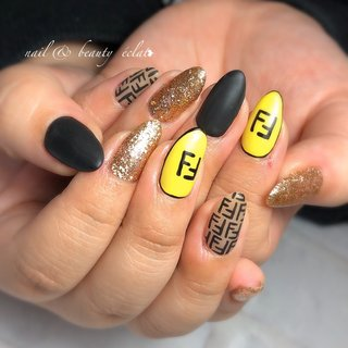 #フェンディネイル #fendiネイル #ブランドネイル #nail & beauty éclat❥ #ネイルブック