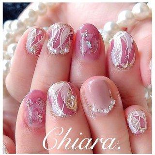 *    #pinknails 💍♡ (スライド3枚目にMovie有📹💋♥︎)    短いお爪にも とってもキラキラ✨素敵でした💍♡  いつも神戸から 楽しい時間を ありがとう ♪ ☺︎💋♥︎        #pinknails#nails#gelnails#fashion#nailbook#nailart#japannail#pink#beauty#beautiful#cute#naildesign#美爪#美甲#ピンクネイル#ピンク#ショートネイル#プッチネイル#プッチ柄ネイル#キラキラネイル#春ネイル#夏ネイル#手描きアート#手描きネイル#ネイルブック#ネイルデザイン#ネイル#chiaranails        Instagram → yochan4nail #春 #夏 #オールシーズン #女子会 #パール #プッチ #ピンク #YokoShikata♡キアラ #ネイルブック