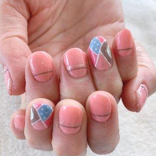 Pucci nails プッチネイル  ワンポイント!  #glitternails #swarovskinail #ongles #nailstagram #purplenails #jelnail #nailart #nailartist #nailswag #nailsart #japanesenailart #kanakanail #ジェルネイル #ネイルサロン #nail salon #中央林間ネイルサロン #オリジナルネイル #大和市ネイルサロン #chuorinkannail #大人ネイル #大人ネイルが得意なサロン #専属ネイリストになります #国内外出張可#完全個室#プライベートサロン#自宅サロン#当日予約可#プッチネイル#puccinails #オールシーズン #ハンド #ドット #プッチ #ショート #ピンク #レッド #カラフル #ジェル #お客様 #kanaka #ネイルブック