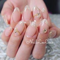 . ┴─┴┴─┴┴─*.+゚✩.*˚ . ヌーディでちゅるんとした ベースカラーとふんわり クリアラメのフレンチ♡ . ✩.*˚┴─┴┴─┴┴─┴ . . . .  #nailstylist #nailsaddict #nailsnailsnails #coolnailart #frenchnails #simplenails #beautyas #ikebukuro #privetesalon #nailleluce #marblenails  #シンプルネイル #スタイリッシュネイル #シンプルなネイルが好き #シンプルだけどスタイリッシュ #池袋南口 #プライベートサロン #オトナ女子ネイル #気分が上がるネイル #ラメフレンチ #シースルーフレンチネイル #シースルーフレンチ #シースルーラメ #シースルーネイル #ちゅるんネイル #透け感ネイル #透明感 #オールシーズン #オフィス #ブライダル #パーティー #ハンド #シンプル #フレンチ #ラメ #パール #ミディアム #クリア #ピンク #ジェル #お客様 #hiramiu•*¨*☆*・゚〖NailLeLuce〗 #ネイルブック