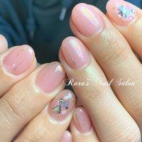 #シンプル #ピンク #パラジェル登録サロン #八戸市ネイルサロン #ララズネイルサロン #Rara #ネイルブック