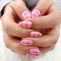春ネイル💕🌸🌸 #ピンクネイル #春ネイル #チェックネイル #推しネイル #BINERU beauty #静岡ネイルサロン #BINERU beauty #ネイルブック