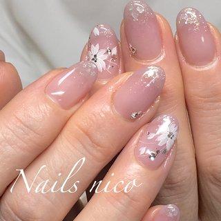 #グラデーション #さくらネイル #水戸市ネイル&スクール Nails nico #ネイルブック