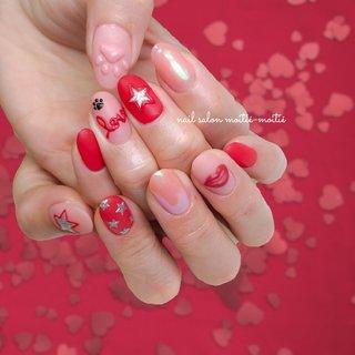 💋 . love Dior cosmetics × cat . ディオールコスメをイメージ♡ そして…愛猫ネイルもコラボ🐈 ぷくぷく立体の肉球にきゅーんっっ♡ F様、いつもありがとうございます♡ . ✂︎ ---------------------------------------- ◆nail salon moitie-moitie◆ 地下鉄深江橋徒歩4分! ご予約は💌nailsalon.moitie2@gmail.com またはDMへ👭 ------------------------------------------- #ディオールネイル #ぷくぷくネイル #美甲 #肉球ネイル #可愛いネイルデザイン  #春ネイル2020 #ラブリーネイル #唇ネイル #大阪ネイルサロン #diornails  #ドルクスジェル  #モアティエモアティエ #深江橋ネイルサロン  #城東区ネイルサロン #大人ネイルデザイン #東成区ネイルサロン #doruxgel  #ディオールコスメ #マットネイルデザイン  #고양이네일 #猫ネイル #星ネイル #redmattenails #おしゃれアートコース #オールシーズン #バレンタイン #パーティー #デート #ワンカラー #星 #3D #マット #ベージュ #ピンク #レッド #nailsalon.moitie-moitie #ネイルブック