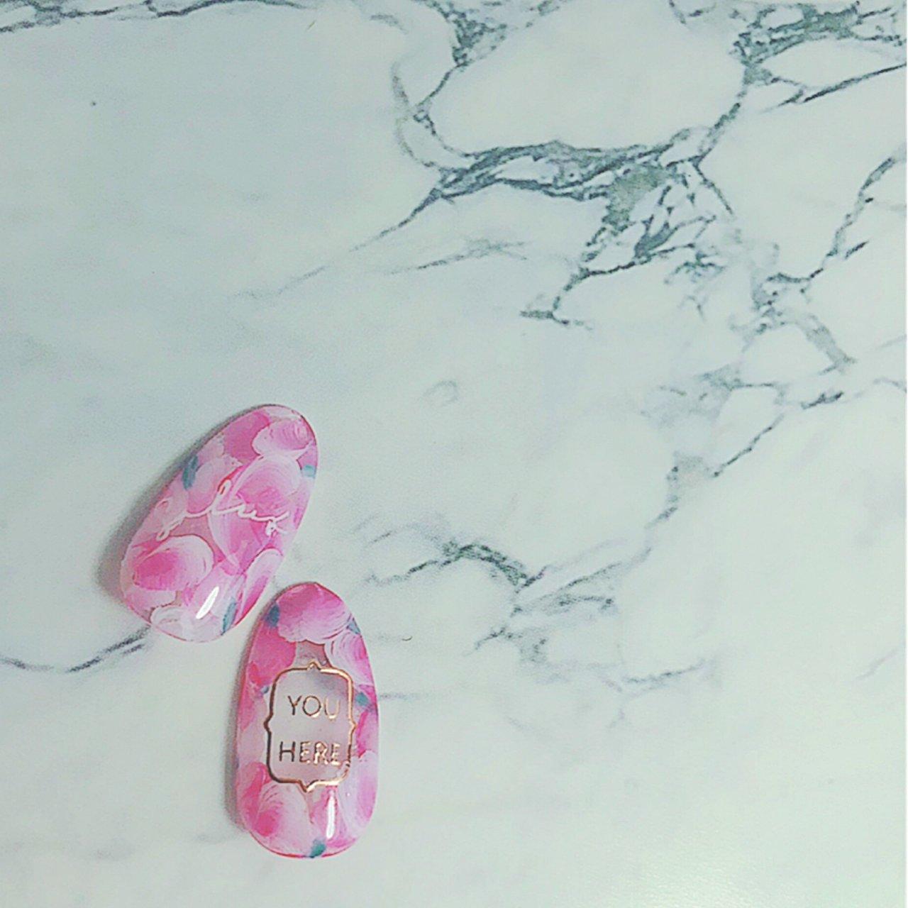 春フラワー♡ 好みのタイプ♡ #フラワー #春 #オフィス #デート #女子会 #フラワー #ホワイト #ピンク #ジェル #爪~SOSHINE~【ツメ ソウシャイン】 #ネイルブック