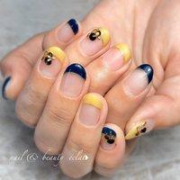 #ショートネイル#フレンチネイル#くすみカラーネイル #nail & beauty éclat❥ #ネイルブック